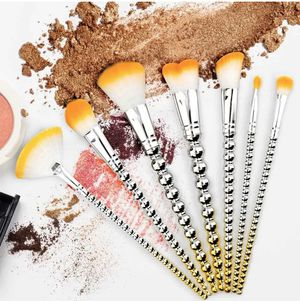 7X Makeup Brush Set Cosmetic Brushes for Foundation Eyebrow Eyeliner Bright HYB for Sale in Brookshire, TX