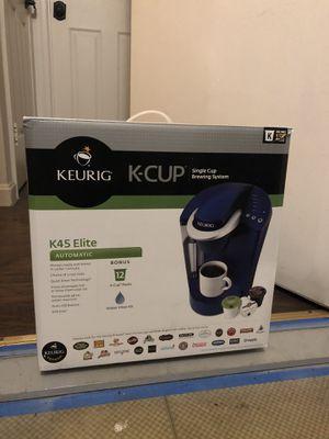 Keurig K45 Elite Brand New for Sale in Gaithersburg, MD
