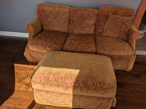 Sofa & Ottoman for Sale in Bakersfield, CA