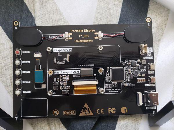 Rasberry Pi Touchscreen monitor 7 inch
