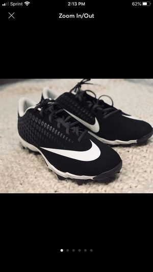 Nike Mens baseball cleats size 13 black for Sale in Lake Forest, CA