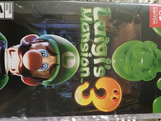 Luigi's Mansion 3 For Nintendo Switch for Sale in Seattle,  WA