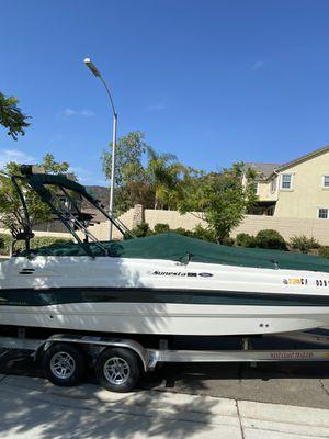 1998 Chaparral Sunesta 232 Deck Boat for Sale in Escondido, CA