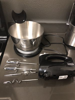 Sunbeam Hand & Stand 5-Speed Mixer - Black for Sale in Glendale, CA