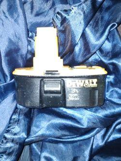 Dewalt Drill Battery for Sale in Denver,  CO