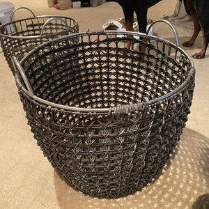 Woven Baskets (for Blankets Or Decor) for Sale in Seattle, WA