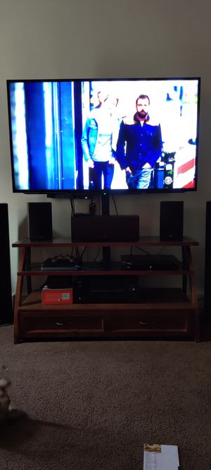 "65"" Sony 4k flat screen with stand for Sale in Hagerstown, MD"