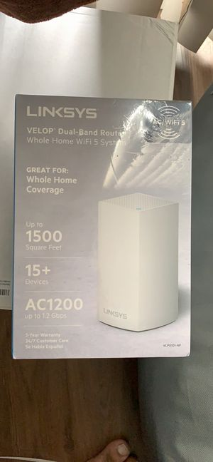 Linksys mesh router for Sale in Plano, TX