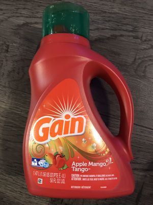 Gain Apple mango tango detergent he for Sale in San Bernardino, CA