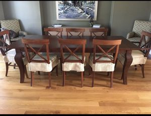 Pottery Barn - large dining table. Chairs NOT included. for Sale in Columbus, OH