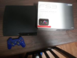 Ps3 with new fight stick controller in box for Sale in Oakland, CA