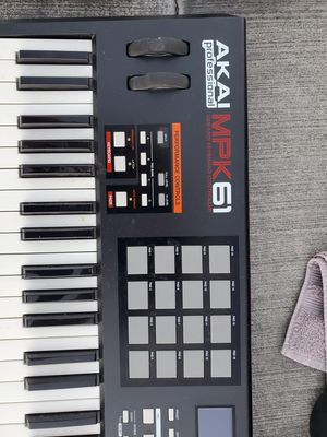 Akai MPK61 Midi Controller for Sale in Henderson, NV
