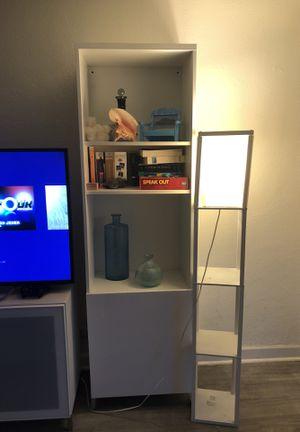 Set of 2 White Bookshelves for Sale in Miami Beach, FL