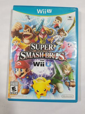 Super Smash Bros. (Nintendo Wii U, 2014) TESTED & SHIPS FAST! for Sale in Winter Springs, FL