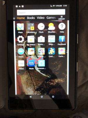 Kindle Fire 7 with case for Sale in Taylor, MI