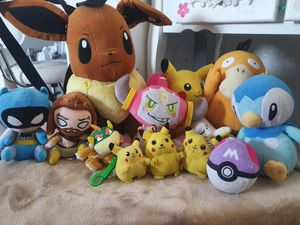 Pokemon plushies / movies for Sale in Los Angeles, CA