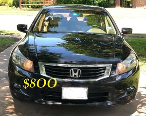 ✅✅📗💲8OO URGENT I sell my family car 2OO9 Honda Accord Sedan EX-L V6 Super cute and clean in and out.✅✅📗!!! for Sale in Arlington, VA