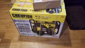 Generator - Champion 100110 for Sale in San Antonio, TX