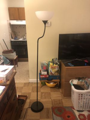 floor lamp for Sale in Marlborough, MA