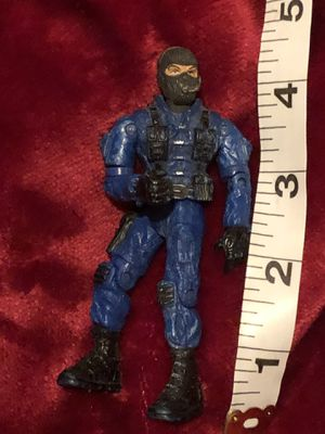 G.I. joe figurine action figure blue black ninja look vintage collectible toy for Sale in Phoenix, AZ