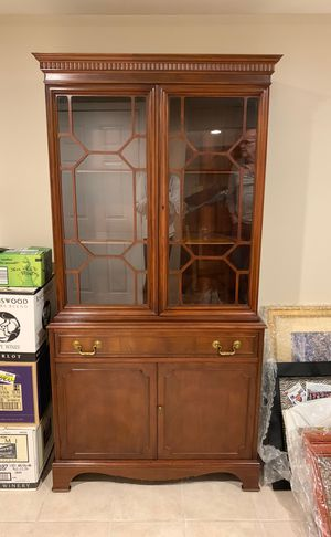 All in One Antique China Cabinet for Sale in Andover, MA