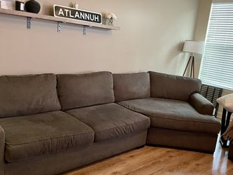 2 Piece Sectional Sofa With Cuddler for Sale in Atlanta,  GA