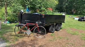 1973 wooden utility trailer made from travel trailer for Sale in Duvall, WA