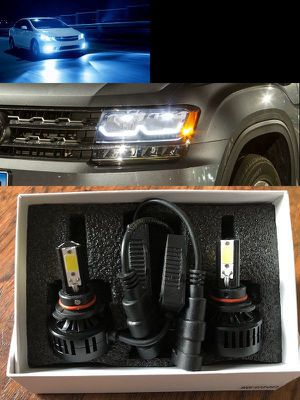 Premium 3 Sided 6K LED Headlight Conversion Kits for Sale in Fullerton, CA
