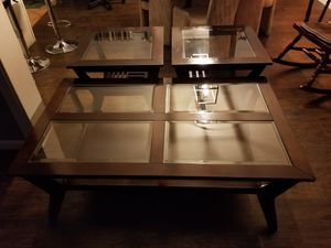 Coffee table and side tables for Sale in Sinking Spring, PA