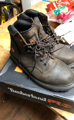 Timberland Work Boots (never worn) for Sale in Milwaukee, WI