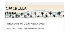 COACHELLA Weekend 2 ticket for Sale in Mountain View, CA