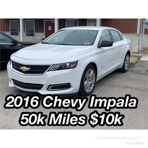 2016 Chevy Impala $10k 50k Miles for Sale in Indianapolis, IN