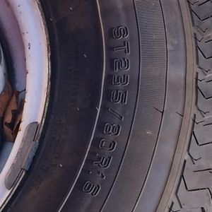 235 80 16 Trailer Tires for Sale in Oroville, CA