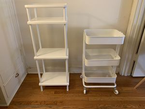 White storage / shelves for Sale in Portland, OR