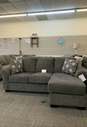 ‼ 39 Down Payment. ❗❗Brise Slate Sofa Chaise 169 for Sale in Jessup, MD