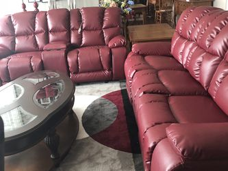 Power Reclining Sofa And Matching Rocker Recliner Love Seat for Sale in Philadelphia,  PA