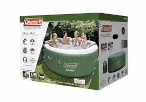 """Coleman 77"""" x 28"""" SaluSpa Inflatable Hot Tub, 4-6 Person for Sale in Houston, TX"""