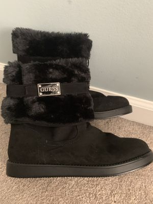 Guess fur boots for Sale in Ashburn, VA