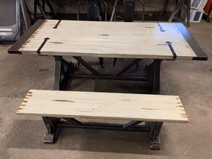 Farm style kitchen table for Sale in Port Murray, NJ
