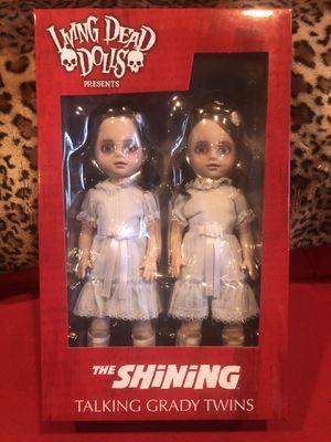 Mezco Living Dead Dolls The Shining Talking Grady Twins for Sale in Los Angeles, CA