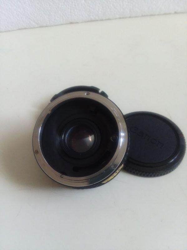 Quantaray 7 Element Auto Tele Converter 2x MC for Canon C/FD.