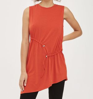 Topshop Asymmetrical Hem Tunic - Size 6 for Sale in South Windsor, CT