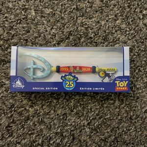 Disney Pixar Toy Story 25th Anniversary Collectible Key for Sale in Fresno, CA