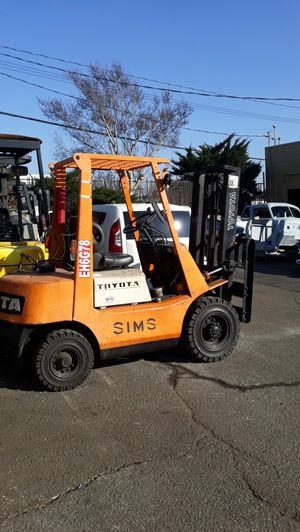 TOYOTA FORKLIFT for Sale in Montclair, CA
