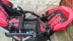 Good condition option l.t double stroller for Sale in Brooklyn, NY