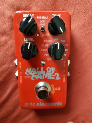 TC Electronic Hall Of Fame 2 Reverb Pedal for Sale in Orlando, FL