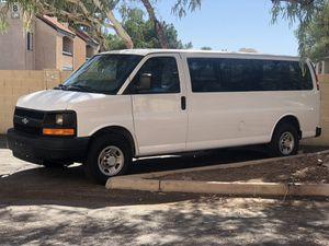 2010 Chevy Express 15 passenger van for Sale in Gilbert, AZ