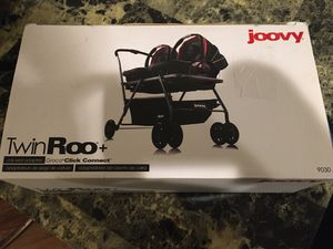 Joovy TwinRoo+ Car Seat Adapters. New, Open Box for Sale in Coburg, OR