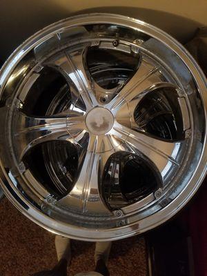 Size 18 Chrome Rims for Sale in Marietta, GA