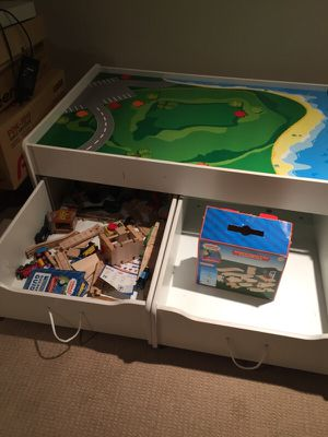 Tren table for kids and extra pieces for Sale in Centreville, VA